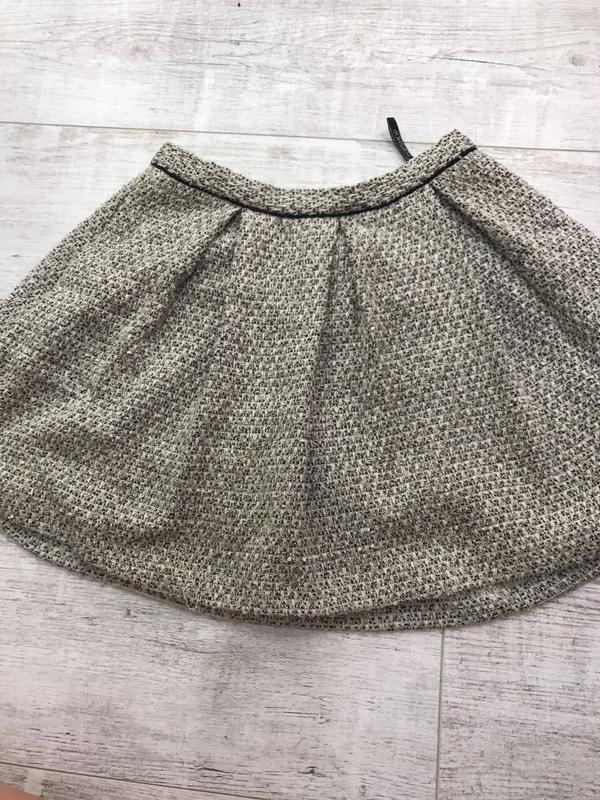 Серая твидовая юбка в стиле chanel top shop Topshop, цена - 170 грн ... ca10cc1f132