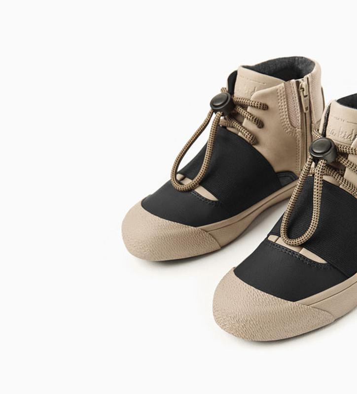 Ботинки сникерсы высокие кеды на мальчика zara ZARA c7c2464082bb7