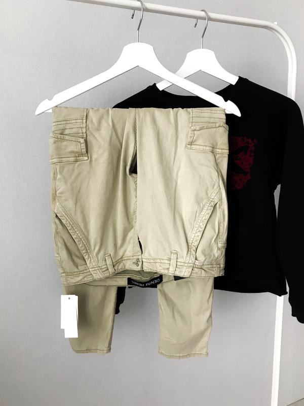 Нові стильні штани з карманами rebel e709c6a14ee53