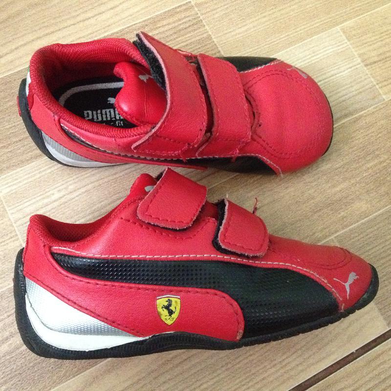 Кроссовки puma ferrari р-р. 22, стелька 14 см Puma Ferrari, цена ... f5ddc7915ae