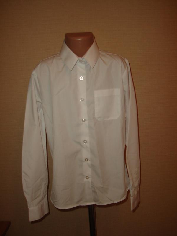 821cf261929 Нова новая белая рубашка на девочку 10-11 лет george George
