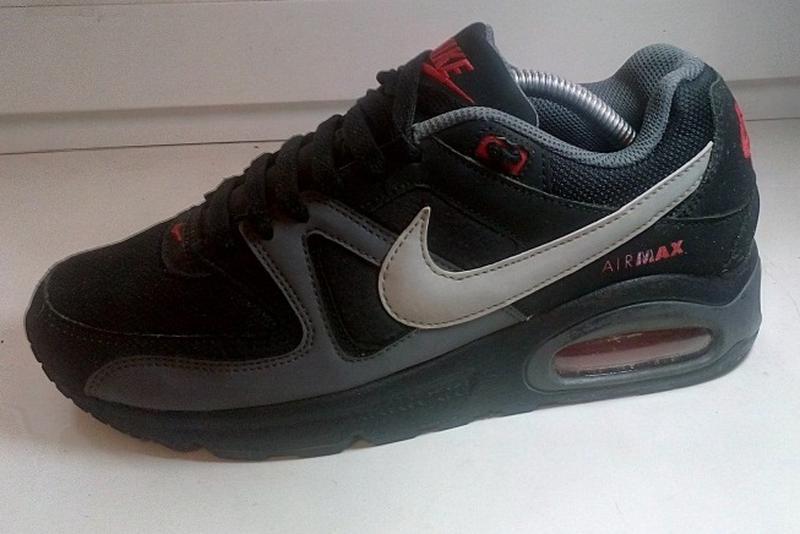 Nike air max command nero кожаные кроссовки сникерсы оригинал 38-39р1 ... 1537b38edb1b9