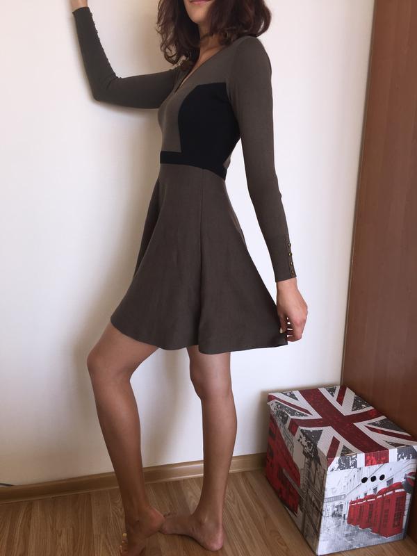 74dc19fec53 Трикотажное платье хаки oasis размер xs Oasis