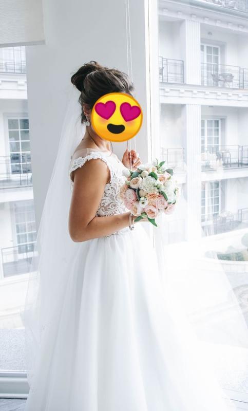 Витончена весільна сукня (італійське мереживо) Felicita, цена - 11000 грн, #60496949, купить по доступной цене | Украина - Шафа