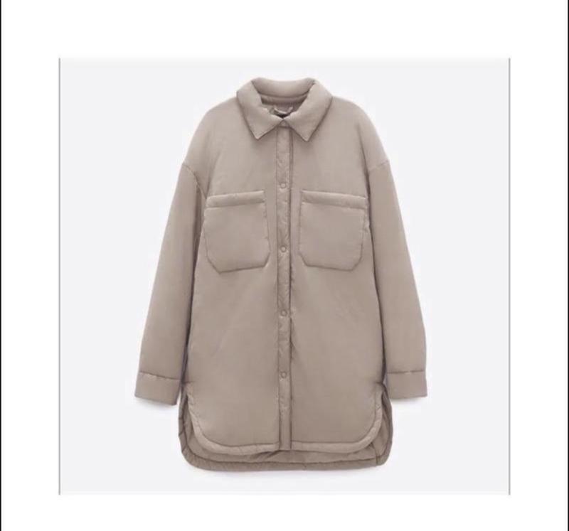 Куртка - рубашка ZARA, ціна - 490 грн, #60520117, купить по доступной цене | Украина - Шафа