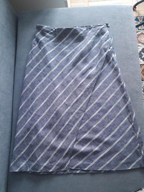 Миди льняная шикарная юбка Marks & Spencer, ціна - 200 грн, #60864899, купить по доступной цене | Украина - Шафа