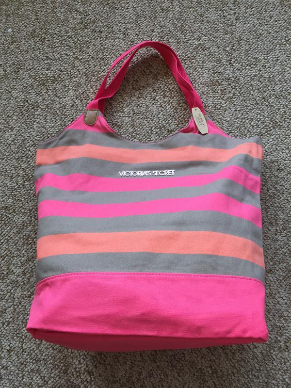 4f64f0627353 Пляжная полосатая сумка victoria's secret Victoria's Secret, цена ...