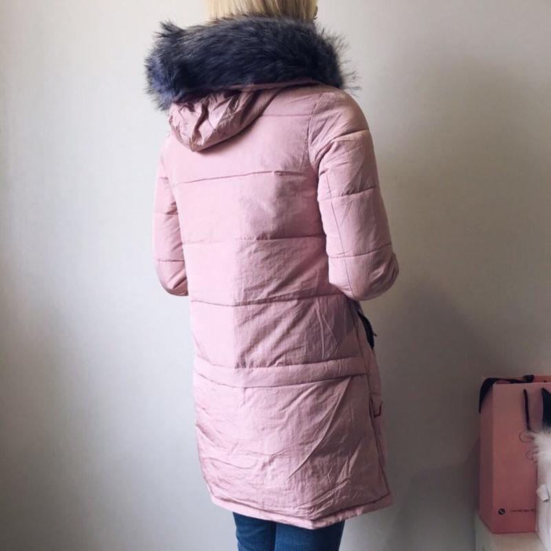b3be77e8f6a8 Зимняя куртка цвета пудры, цена - 700 грн,  7289033, купить по ...