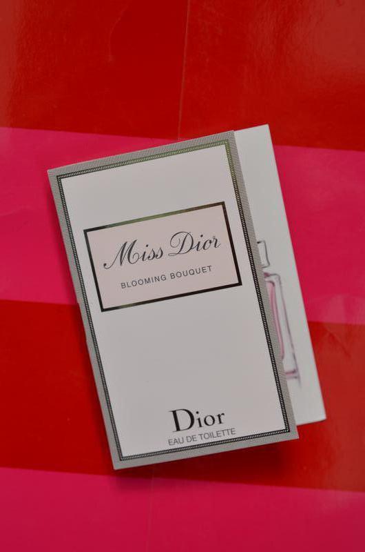 Пробник christian dior miss dior blooming bouquet Christian Dior ... cef401e647258