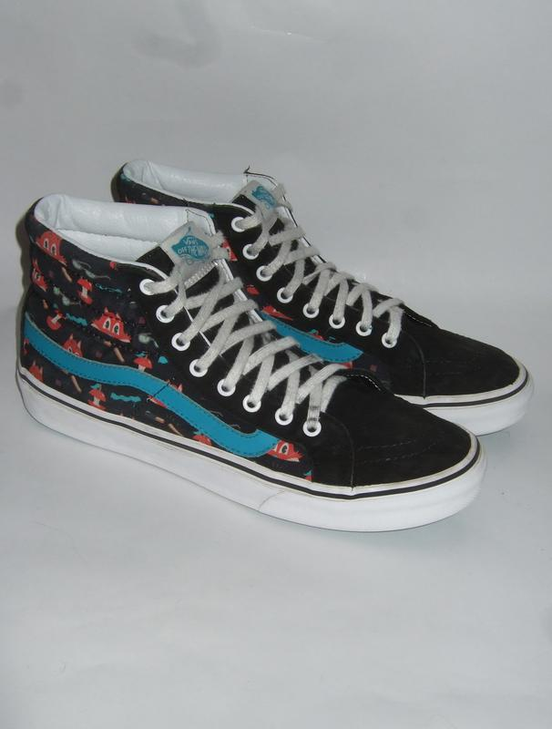 7ea5a9df5fed Кеды vans sk8-hi slim ((dabs myla) multi black) skate shoes оригинал ...