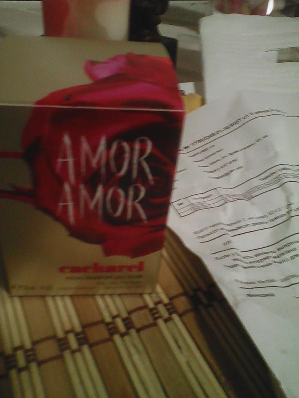 e4e71be2c21 ... Парфюмиров.вода cacharel amor amor mon parfum du soir, объем 30 мл3 фото  ...