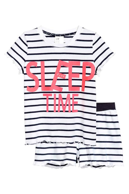 Пижама h m морячка 34 xs 36 s полоски sleep time1 ... 6398f51981da7