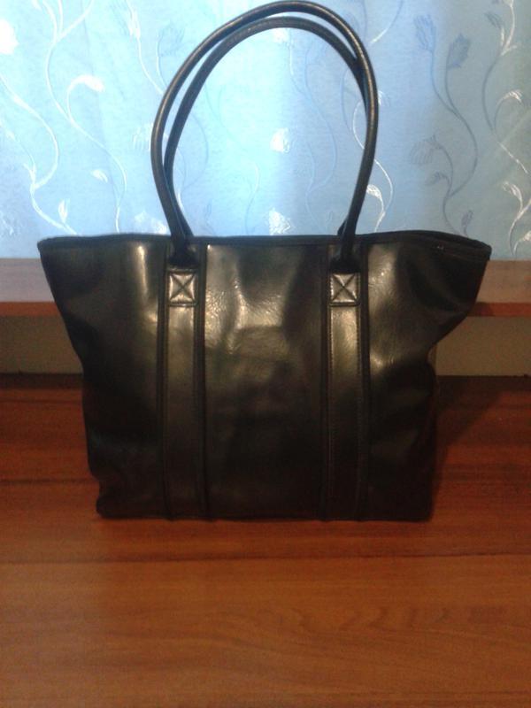 851202a4 Кожаная,вместительная сумка suzy smith Paul Smith, цена - 300 грн ...