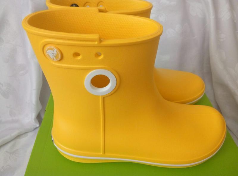 2ac0f340 Женские резиновые сапоги крокс crocs women's jaunt shorty warm lining rain  boots1 фото ...