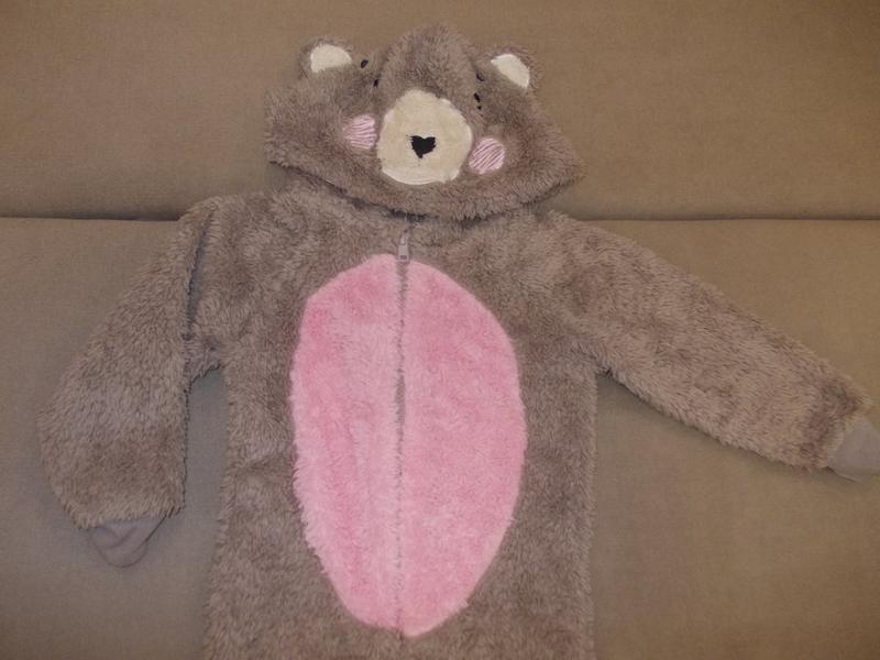Пижама кигуруми слип комбинезон мишутка на 3-4 года рост 98-104см за 90  грн.  0fc410fefe6f8
