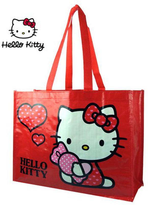 e91bbd3307d0 Сумочка пляжная или хозяйственная хелло китти Hello Kitty, цена - 30 ...