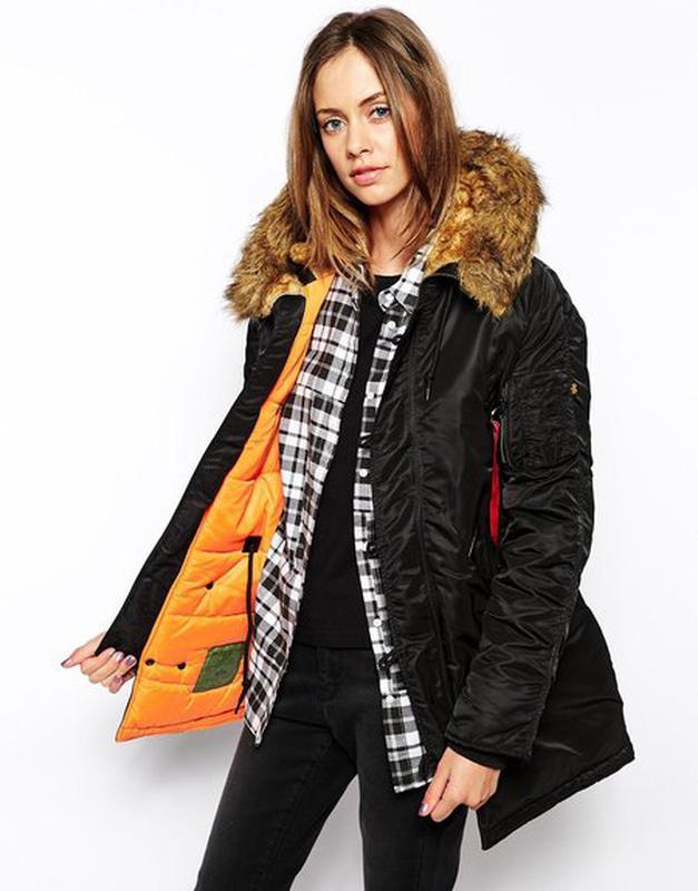 a2952237 Женская куртка аляска n-3b women с непромокаемого нейлона.1 фото ...