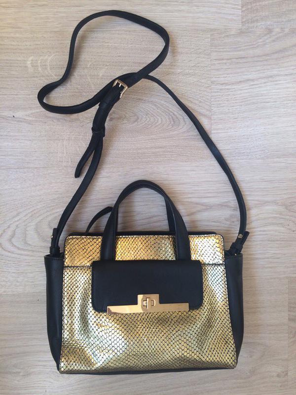 149cc5f66fd Кожаная брендовая сумочка - клатч other stories оригинал новая в наличии!
