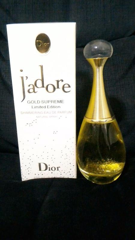 Christian dior j`adore gold supreme limited edition edp 8faf9434f7e0a