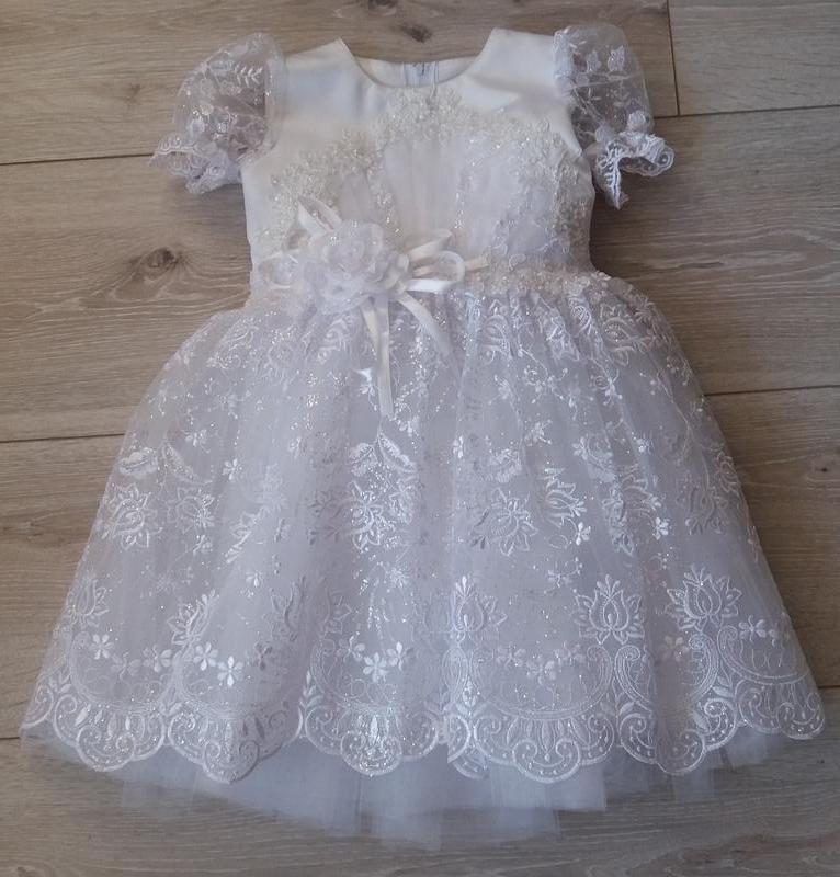3b696d50d076efd Нарядное новогоднее платье на девочку 3 - 4 - 5 - 6 лет, цена - 400 ...