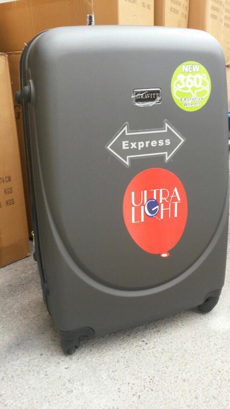 308dfd91738c 🔥супер цена! средний чемодан пластиковый середня валіза пластикова польша  доставка1