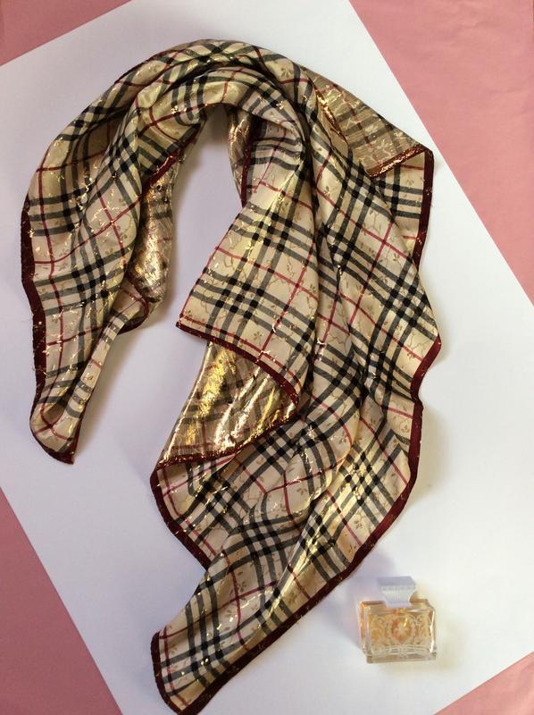 ✨платок в стиле burberry шарф в клетку, цена - 125 грн,  7526768 ... 6e5dcac7aed
