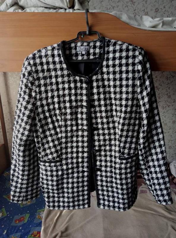 Пиджак в стиле коко шанель, цена - 50 грн,  7547599, купить по ... cc209cb76e8