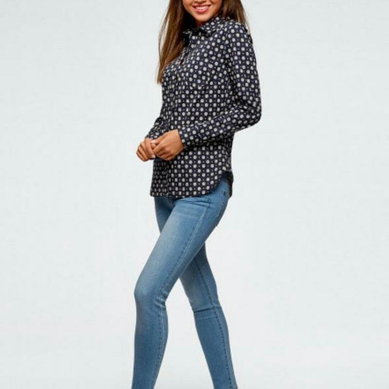 Приталенная рубашка из хлопка oodji l/12-14 размер Oodji, цена - 250 грн, #63205470, купить по доступной цене | Украина - Шафа