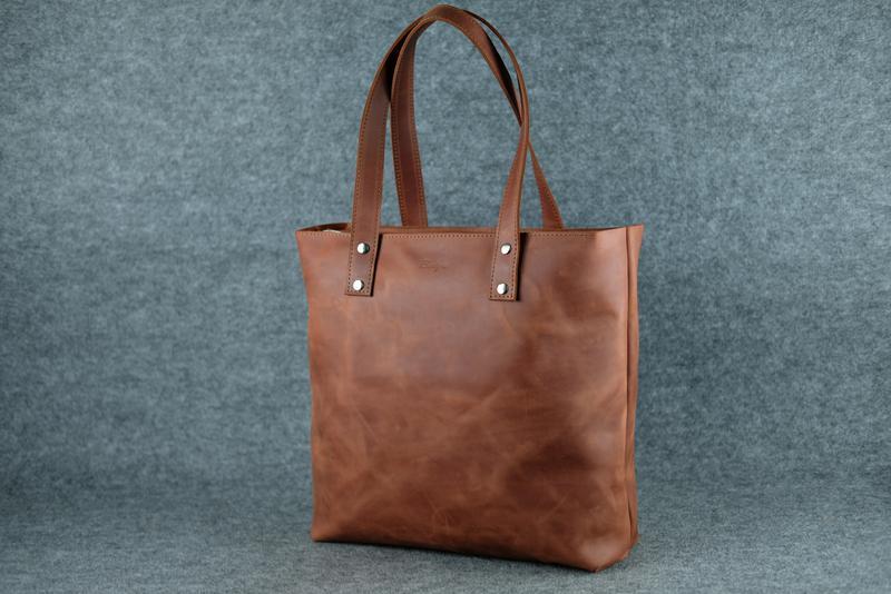 53d0e58ee86e Кожа. ручная работа. вместительная коричневая кожаная сумка шопер.1 фото ...
