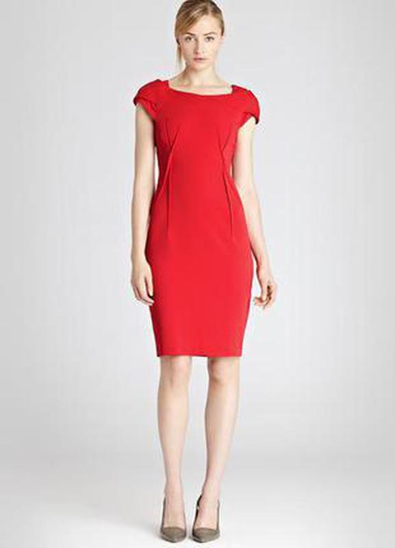 41c852ebc5d Шикарное красное платье футляр reiss1 фото ...
