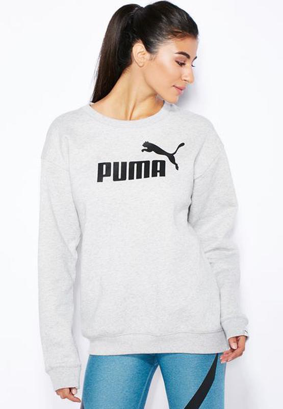 9dbe492efc99 Женская толстовка puma ess bf crew sweat fl р. s оригинал Puma, цена ...