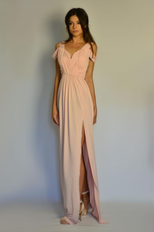 20fff458565 Идеальное вечернее платье в пол с открытой спиной для подружек невесты  asos1 фото ...
