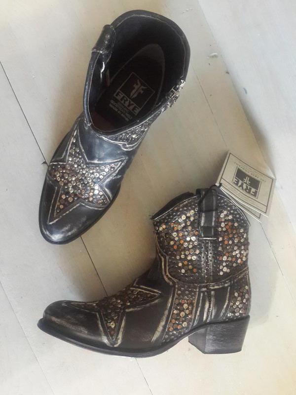 Frye, эффектные кожаные ботинки, цена - 1599 грн,  7672545, купить ... 92561f9fa0c