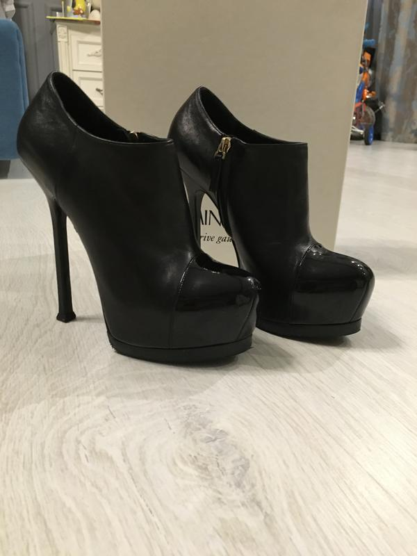 Ботильоны ysl, 37 р. оригинал! Yves Saint Laurent, цена - 5500 грн ... dacefec901e