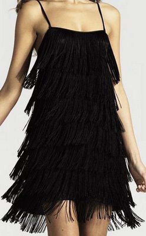 aac382aef5e Платье бахромой черное1 фото ...