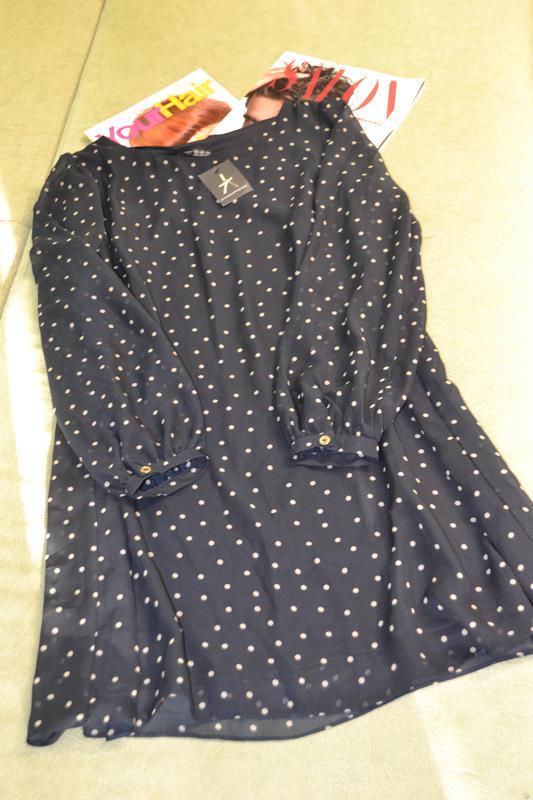 Шифоновое платье в горох!! Atmosphere, цена - 199 грн,  7732081 ... 550a4b6dc36