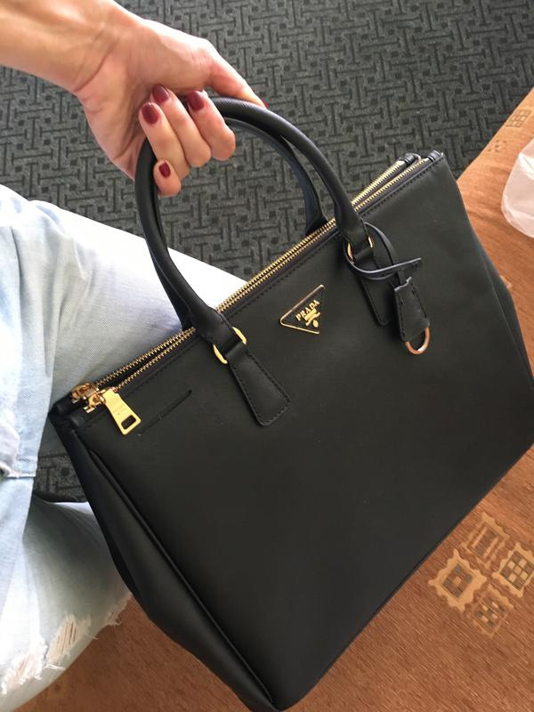 7b6f81866f4b Кожаная сумка prada saffiano Prada, цена - 2800 грн, #7754840 ...