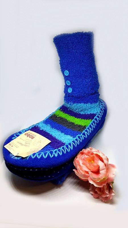 Женские махровые тапочки-носки р.40 41 walmart сша, цена - 180 грн ... 706b1b35aaa