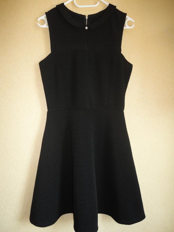 215a5b07dc4 Стильное базовое черное платье1 ...