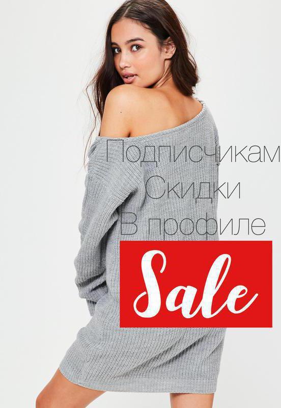 99e5dafa1ff Новое платье свитер серый в рубчик asos размер m l1 фото ...