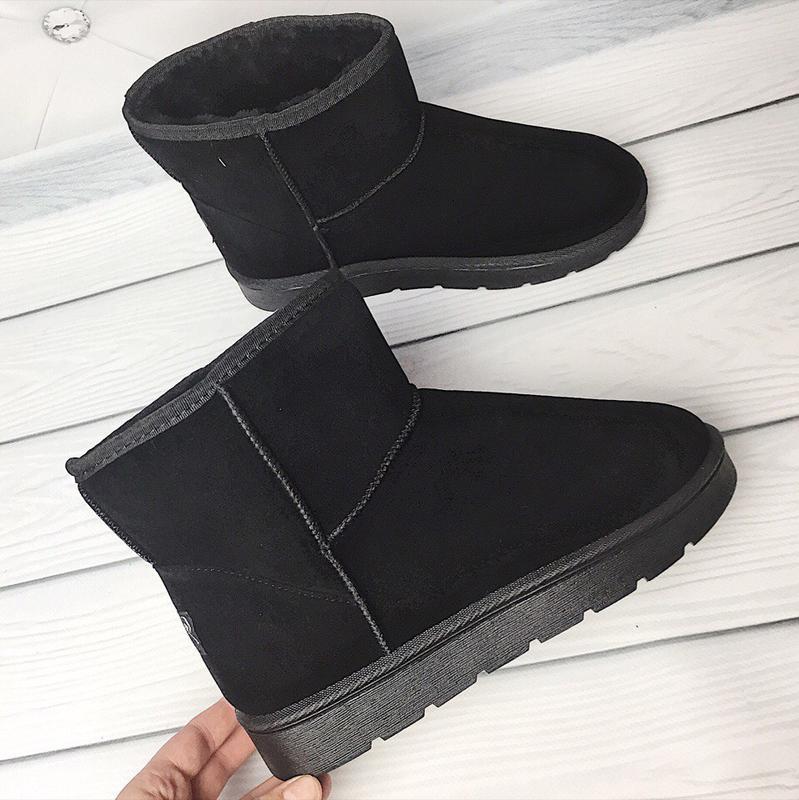 36 37 38 39 40 41 ботинки сапожки замш угги мех зима теплые осень боты1 ... d84df6089f3