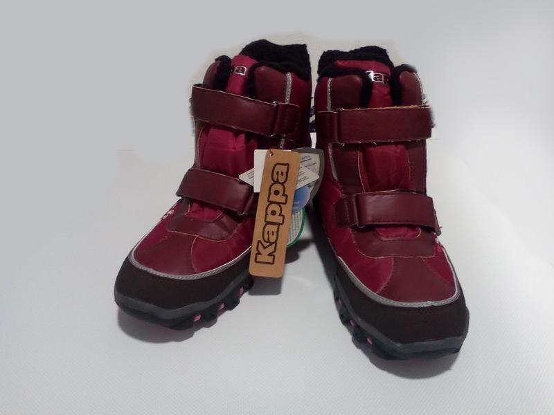2a4db1b9864419 Фирменные зимние мембранные треккинговые термо ботинки сапоги kappa р. 37  38 391 фото ...
