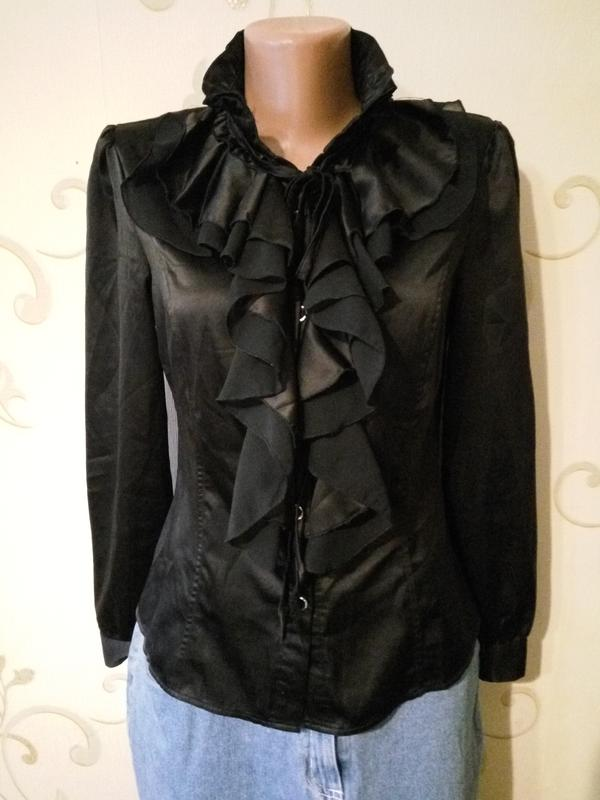 861d5050f8d Шикарная атласная блузка . шелк атлас . размер l1 ...