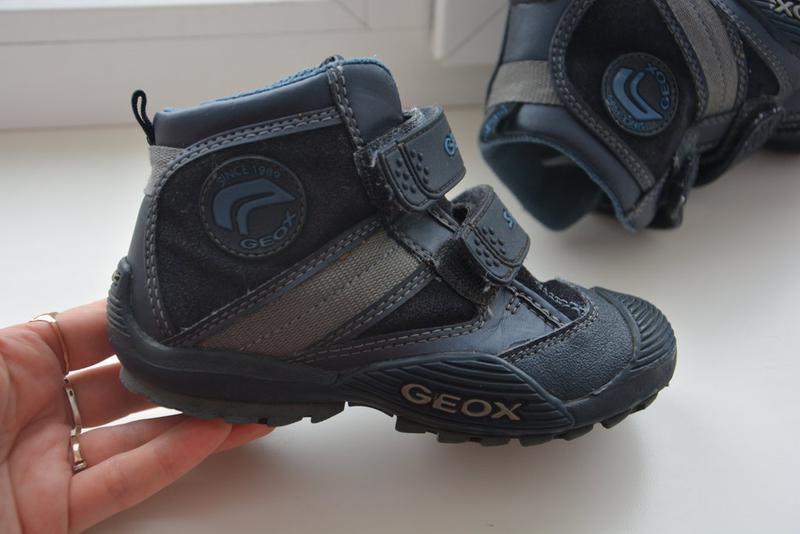25df11c2c Детские демисезонные ботинки geox. италия, 27 размер, 16,5см стелька1 фото  ...