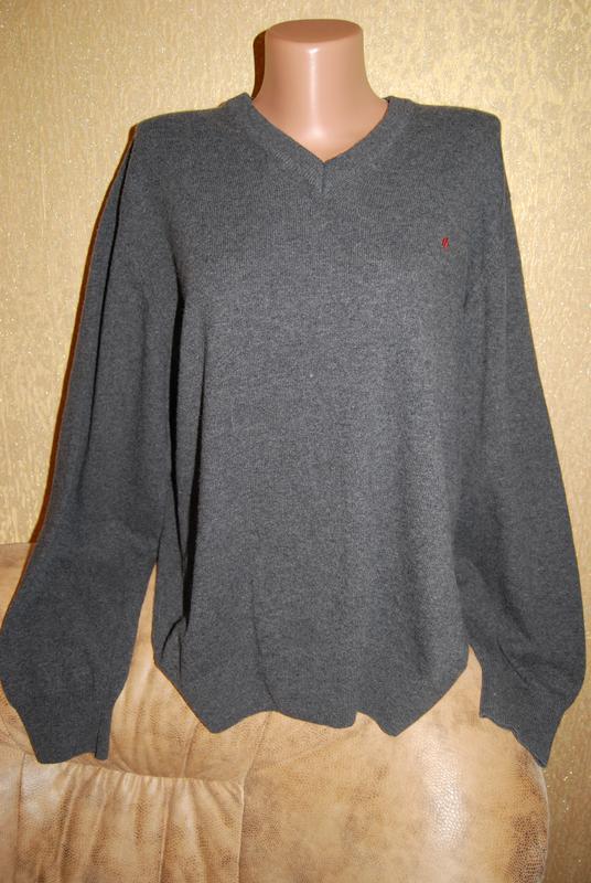 Класический шерстяной свитер джемпер унисекс1 ... 6586fd4979439