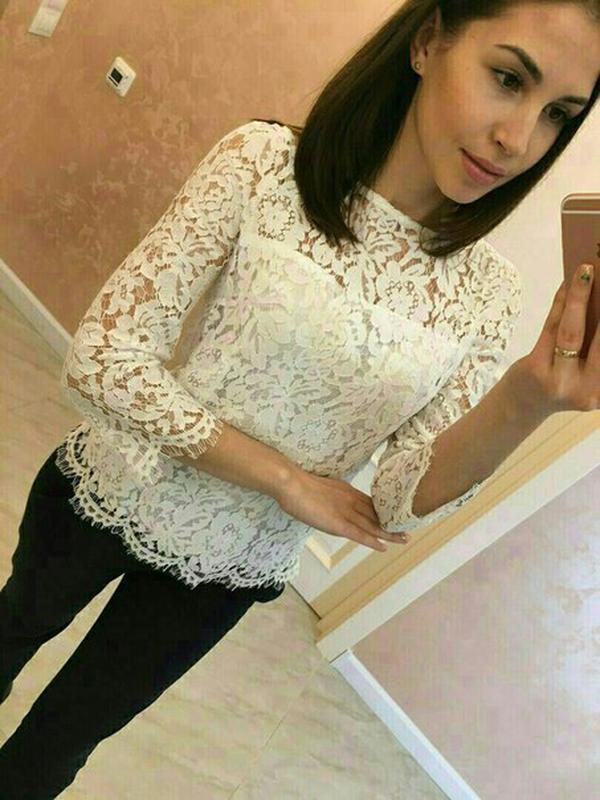 d590d11c621 Красивая кружевная кофта блузка1 ...