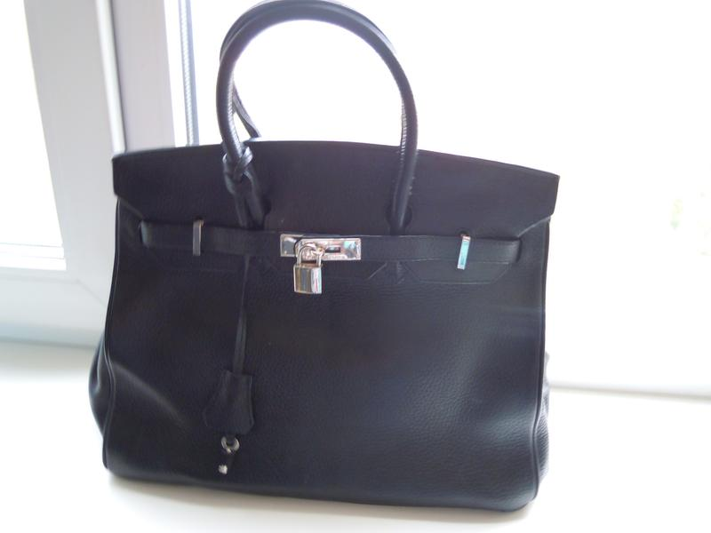 5b5596b811dc Легендарная кожаная сумка hermes birkin-100%зернистая натуральная кожа  франция1 фото ...