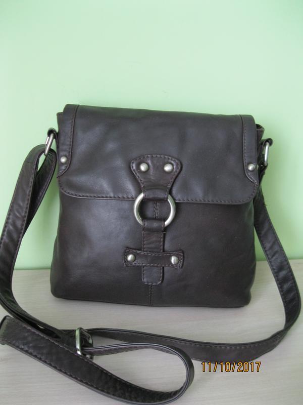 8d508543802f Шкіряна фірмова німецька сумка кросбоді borella. оригінал!!!!1 фото ...