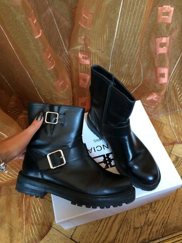 Ботинки демисезонные pull and bear сапоги черные женские 361 ... 012d8a183c5