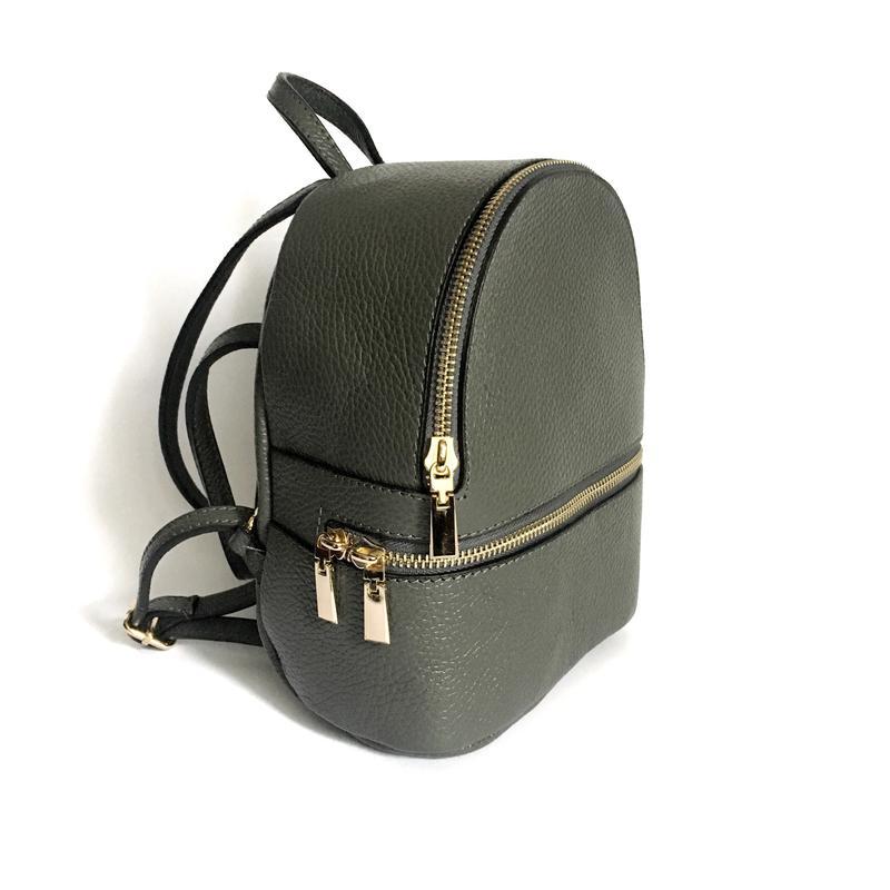 Кожаный рюкзак leather country, италия, серый черный, цена - 1620 ... 536d3192feb